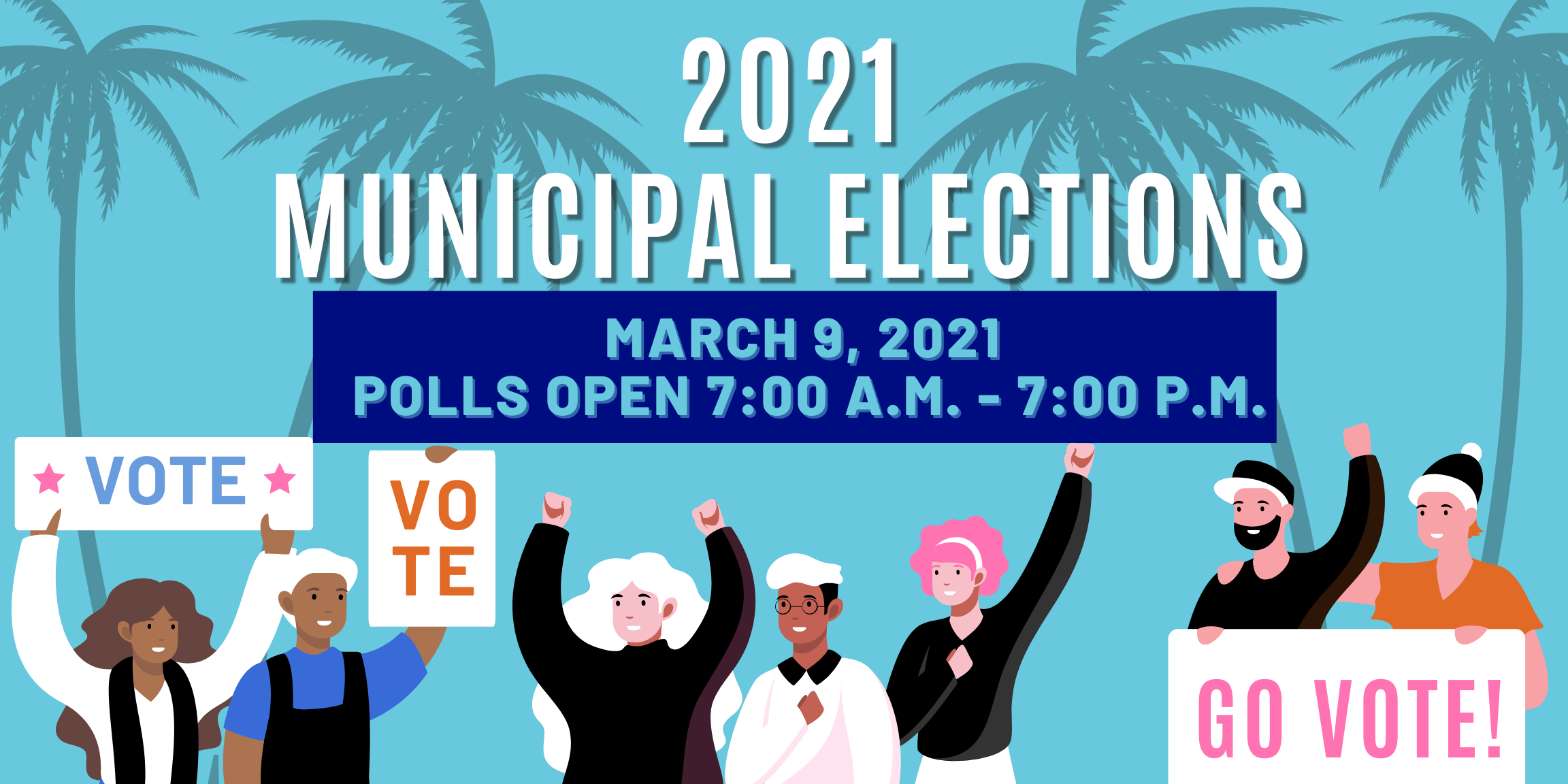 2021 Municipal Election graphic