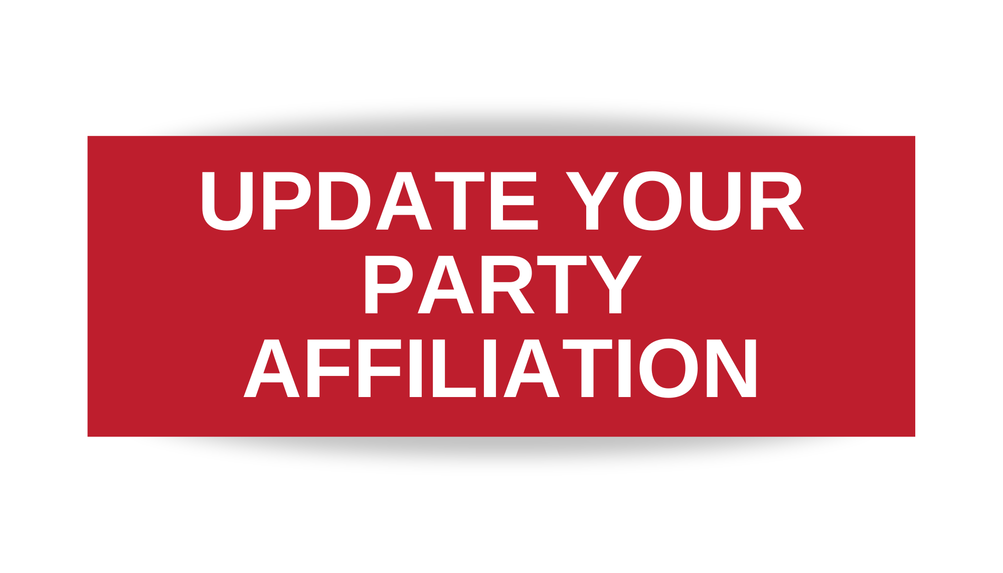 Button to Update Party Affiliation